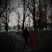 Red Rain Lovers by augustrush008