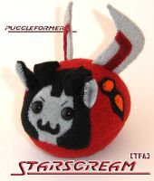 Puggleformer - TFA Starscream by callykarishokka