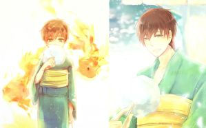 [Free!] Now and Then by maew3ta