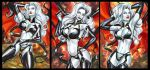 LADY DEATH PERSONAL SKETCH CARDS MARCH 2015 by AHochrein2010