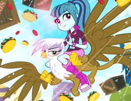 Taco Tuesday Air Drop by PixelKitties