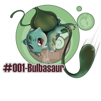 #001-Bulbasaur by SoraValtieri