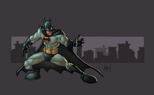 mikes batman by shalomone