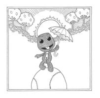 LittleBigPlanet CD Cover by 010001110101