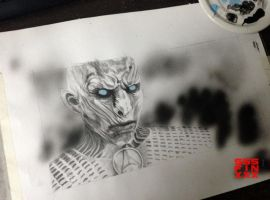 (GoT) White walker 6/9 + video by AndreiPavel