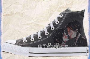 My Chemical Romance Converse by willybones