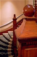 Antique stairs ballister stock by paintresseye