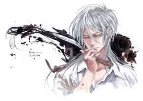 Pscho-Pass: Shogo Makishima by Nick-Ian