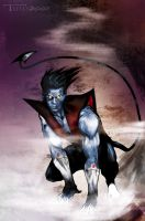 nightcrawler by artist Tom Kelly by TomKellyART