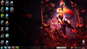 Zyra wallpaper Preview. by Ceyism