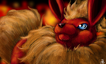 Speedpaint: Flareon by mfm50