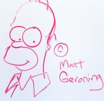 homer Simpson by TheLinkMaster
