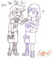 Me and Neji i.d by OctoberReign