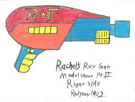 Rachel's Ray Gun Model Sheet Part 2 by RedJoey1992