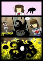 FutureTale: CHAPTER 1 - RUINS 3 page by KasugaBee
