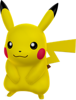 Pikachu by ryanthescooterguy