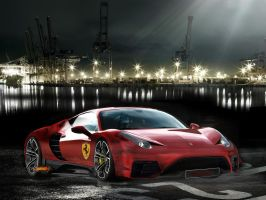 Ferrari Italia Scuderia by james007bond35