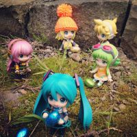 Vocaloid Easter Egg Hunt by jen-den1