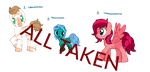 Adoptable Ponies (One per person free)ALL TAKEN by AskDieselAndFriends