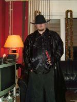 Me as a vampire hunter. by Ulthor