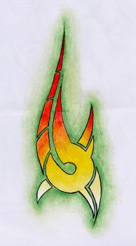 Tribal ''flame'' by NbKa