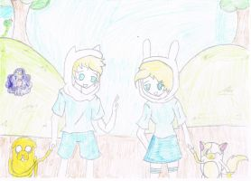 Adventure Time with F and J and F and C by masuki-senpai
