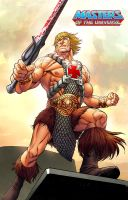 HE MAN by TeoGonzalezColors