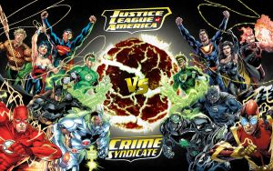The JLA vs The CSA! by Superman8193
