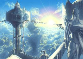 At ''The Mount of Pharisees'' by veki-kun