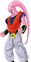 Super Buu Gohan new version by luigicuau10