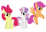 Older Cutie Mark Crusaders by Dulcechica19