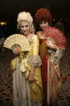 Scarlett and Giselle at DCon by JustBetsyCostumes