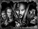 Pirates of the Caribbean: Curse of the Black Pearl by Jackolyn