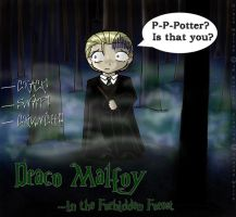 HP: Draco Malfoy Colored by Leara