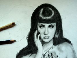 WIP: Megan-Katy by LucyRedfield