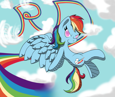 Rainbow Dawesome by thepiplup