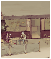 cafe by absoluteyeah