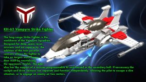 Vampyre Strike Fighter Overview by SWAT-Strachan