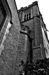 Longview Community Church (Black and White) by MyImaginaryVisions