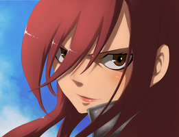 Fairy Tail Special Chapter : She's, Erza! by ilyesgnei