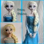 Disney's Frozen Ice Queen Elsa Ooak Doll Repaint by DaisyDaling