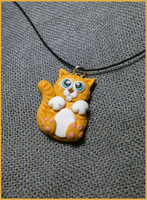 Kitten Necklace by CookingMaru