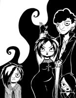 Goth Kids by MidnyghtDew