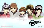 Anime SS501 by sillyhappyperson