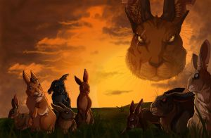 Watership Down - Efrafa by LadyFiszi