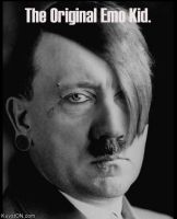 Emo Hitler by lovefink