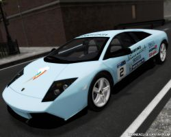 MLP Cars: Rainbow Dash Lambo Murcielago LP-640 by MarineACU