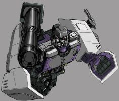 old stuff: titanium megatron by beamer