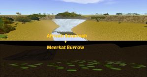 Public African map With Meerkat Burrow! 8D by HomesuckFH