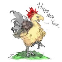 Year of the Rooster by Millkie